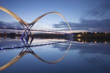 مدل پل معلق کابلی فلزی پل نیویورک پل روی رودخانه پل پارک پل چوبی پل عابر پیاده