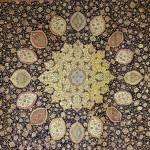 دانلود مدل فرش ایرانی مدرن پادری شگی پرزدار موکت