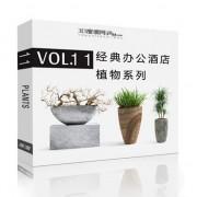 دانلود مدل گل گیاه گلدان بنسای مدل سه بعدی آماده رندر تری دی مکس وی ری