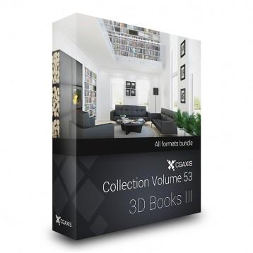 دانلود مدل کتاب مجله مدل سه بعدی آماده رندر تری دی مکس وی ری