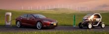 دانلود مدل سه بعدی ماشین اتومبیل الکتریکی BMW شورلت هوندا میتسوبیشی رنو تسلا تویوتا RAV4 ولو تری دی مکس وی ری