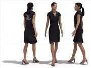 مدل سه بعدی اورموشن آدم مردم انسان زن مرد ولوم 1 | تری دی مکس اسکچاپ آبجکت