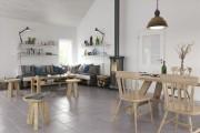 محیط صحنه آماده رندر داخلی آشپزخانه نشیمن پذیرایی اتاق خواب دکوراسیون مینیمال
