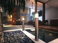 مدل لامپ چراغ پارک باغ تزئینی کلاسیک آباژور