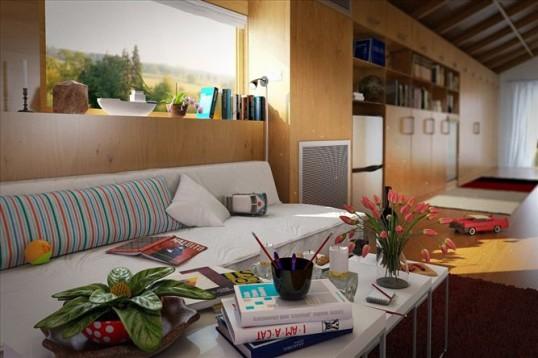 مدل وسایل دکوری منزل خانه کتاب گلدان کره زمین