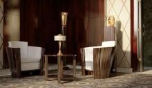 دانلود آبجکت سه بعدی مدل وسایل استیل قدیمی دکوراسیون داخلی مبل آباژور میز ناهارخوری چوبی تری دی مکس وی ری - ویژه فقط در معماری مدل