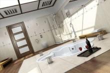 مدل سه بعدی حمام دستشویی اسپا وان دوش جکوزی سونا | تری دی مکس اسکچاپ آبجکت