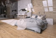 مدل سه بعدی تختخواب پتو بالش تخت چوب
