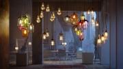 مدل سه بعدی آباژور لوستر لامپ تزئینی
