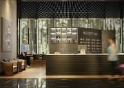 مدل سه بعدی میز پذیرش رسپشن هتل لابی مطب پزشک باشگاه ورزشی