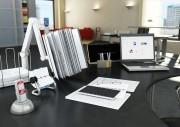 مدل سه بعدی وسایل اداری فایل زونکن پنکه تخته وایت برد آب سردکن   تری دی مکس اسکچاپ آبجکت
