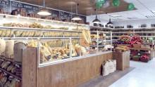 مدل سه بعدی دکوراسیون داخلی فروشگاه مغازه یخچال فروشگاه رگال لباس قفسه فروشگاه سبزیجات خشکبار نان روغن گندم برنج پنیر ماهی