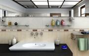 مدل سه بعدی حوله وسایل حمام دستشویی صابون کرم عطر ادکلن سشوار ترازو سطل آشغال   تری دی مکس اسکچاپ آبجکت