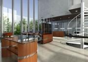 مدل سه بعدی وسایل اداری میز کنفرانس منشی قفسه دراور   تری دی مکس اسکچاپ آبجکت