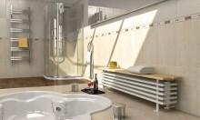 مدل سه بعدی رادیاتور حمام شوفاژ حوله خشک کن شیر آب | تری دی مکس اسکچاپ آبجکت