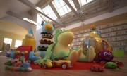 مدل سه بعدی اسباب بازی کودکان عروسک ماشین کوکی باربی | تری دی مکس اسکچاپ آبجکت