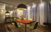 فیلم آموزش ساخت اتاق غذاخوری نورپردازی مدلسازی تکسچر متریال تری دی مکس وی ری شرکت ویزکوربل